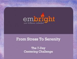 Stress to Serenity